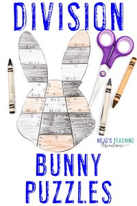 Click to buy Division Bunny Puzzles!