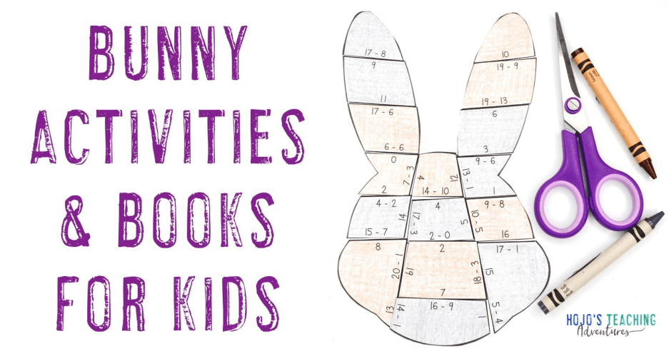 Bunny Activities & Books for Kids