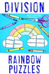 Click to buy division rainbow puzzles!