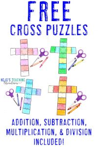 FREE cross puzzles