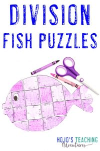 Click to get your FREE division fish puzzles!