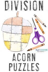 Click to buy your own division acorn math games!