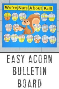 Easy Acorn Bulletin Board