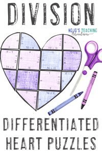 Click here to get your own DIVISION heart puzzles!