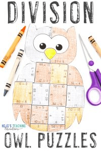 Click to get your DIVISION Owl Math Games!