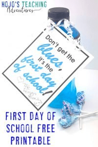Click to get your FREE first day of school printable download!