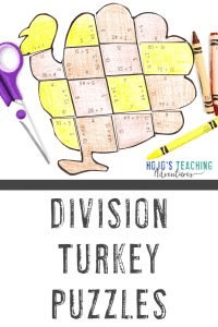 Click to buy your own DIVISION turkey math games!