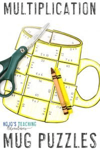 Click to get your own MULTIPLICATION mug puzzles!