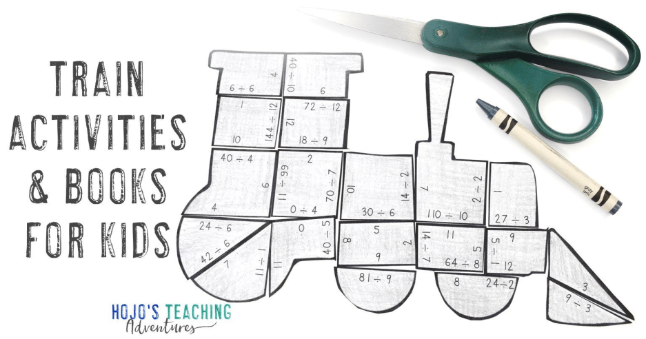 Train Activities for Kids And MORE Ideas Too!