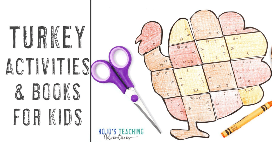 Turkey Activities for Kids {Plus Great Book Ideas Too!}