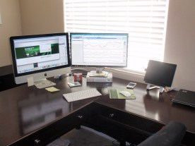 Computer setup.