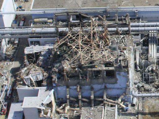 フクイチ3号機 爆発後の上空からの写真