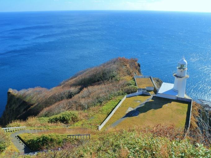 地球岬展望台【室蘭】の景色。情緒を感じる景色です。