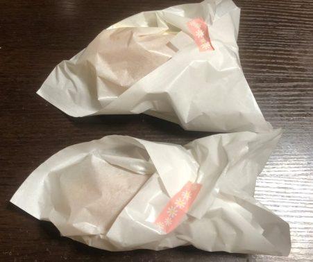袋に入ったコッペパン