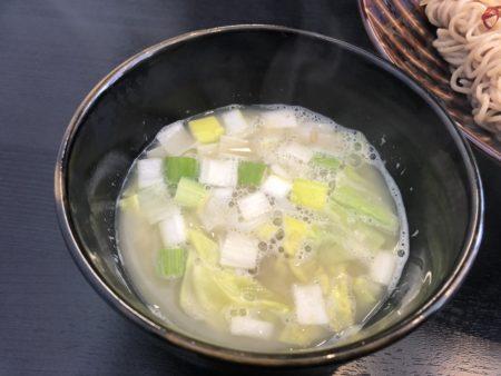 つけ麺のスープ