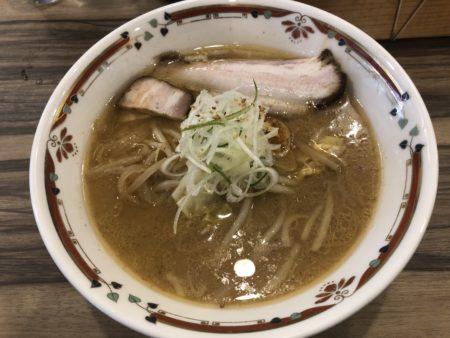 狼スープの味噌ラーメン