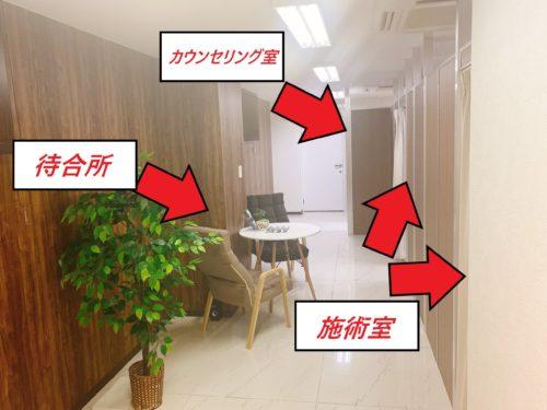 メンズクリア北海道札幌店の店内