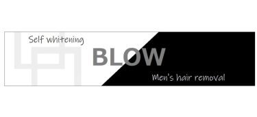 メンズ脱毛のBLOW(ブロウ)のロゴ