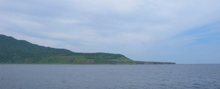 知床半島赤岩海岸