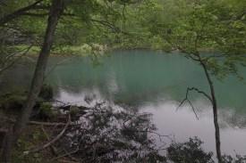 オンネトーの湖面