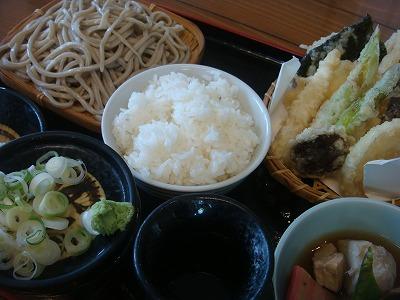 天ぷら定食 竹