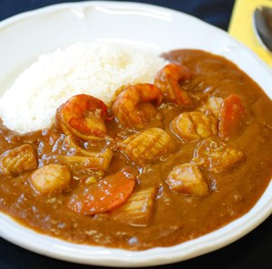 Freshly Frozen Seafood Curry