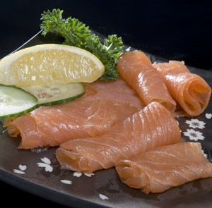 Freshly Frozen Smoked Salmon