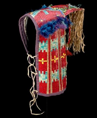Lakota cradle board ca. 1880