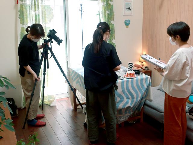 雑誌『北欧テイストの部屋づくり』撮影