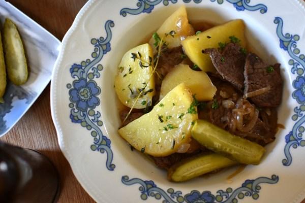 スウェーデンの肉じゃが『船乗りのシチュー/Sjömansbiff』