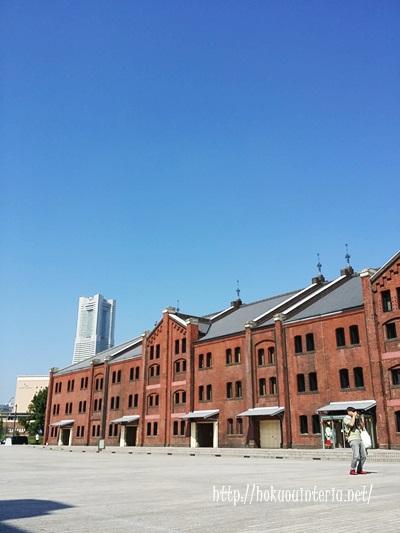 横浜の赤レンガ倉庫