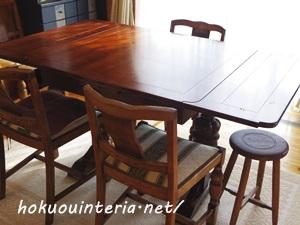 ダイニングテーブル模様替えIMGP0885-001