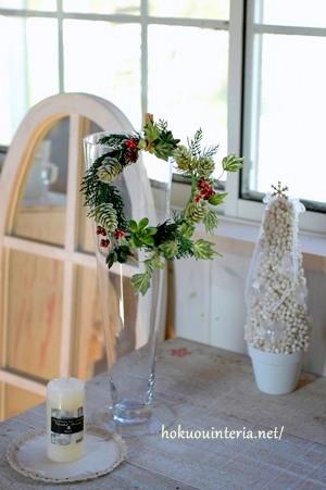 クリスマスリースの飾り方
