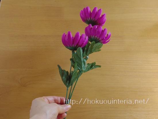 100均の仏花