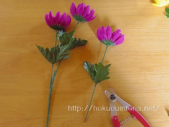 お墓に備える造花I