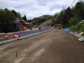国道312号道路工事 北都建設
