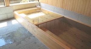 ひのきの浴槽