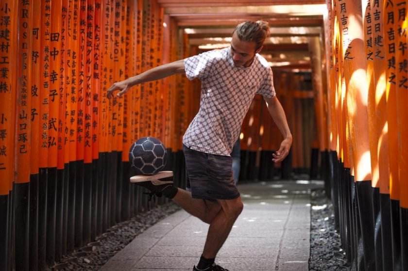 Mathieu Pierron à Kyoto, Fushimi