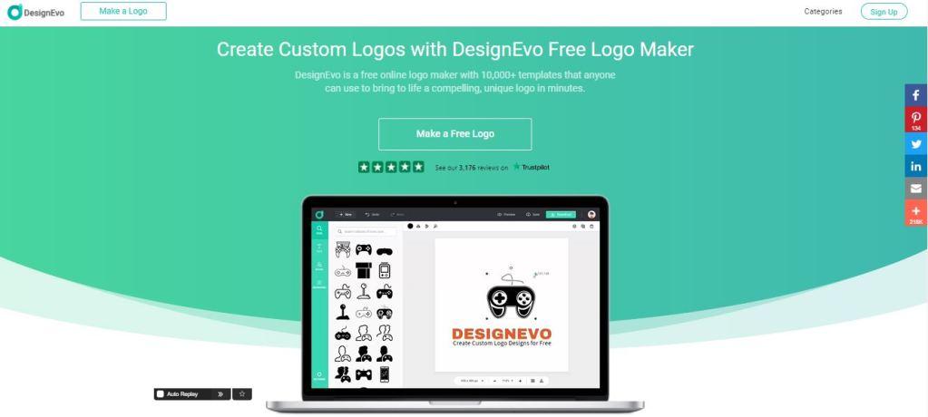 DesignEvo Logo設計平台 2