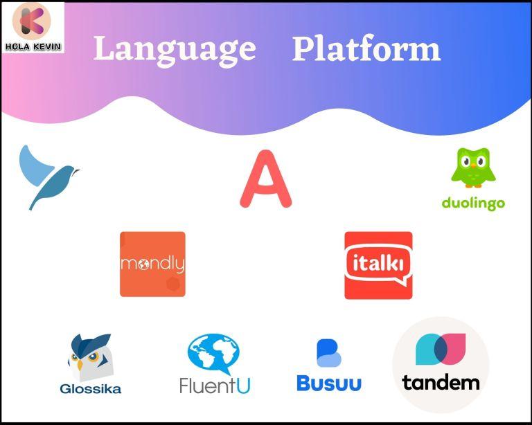 外語學習平台