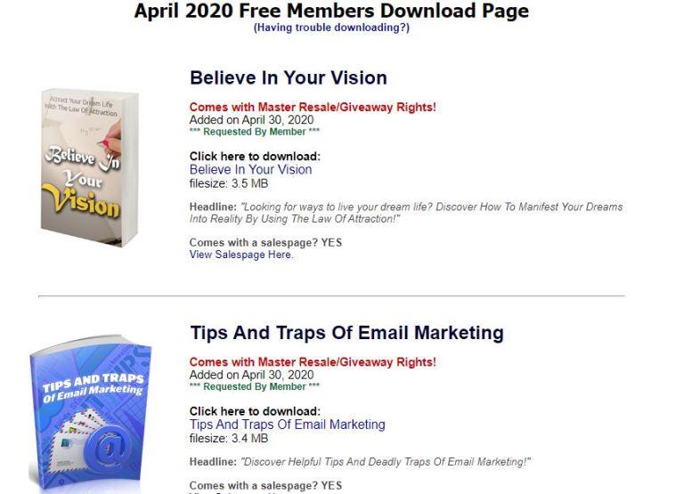 電子書賺錢 resell rights weekly 3