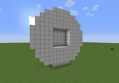 How to Build Circles and Spheres in Minecraft