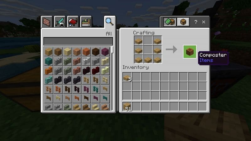 How to Make a Compost Bin in Minecraft