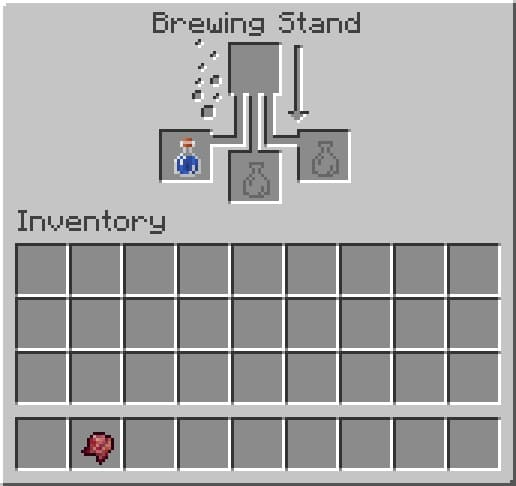 How to Make a Weakness Potion in Minecraft
