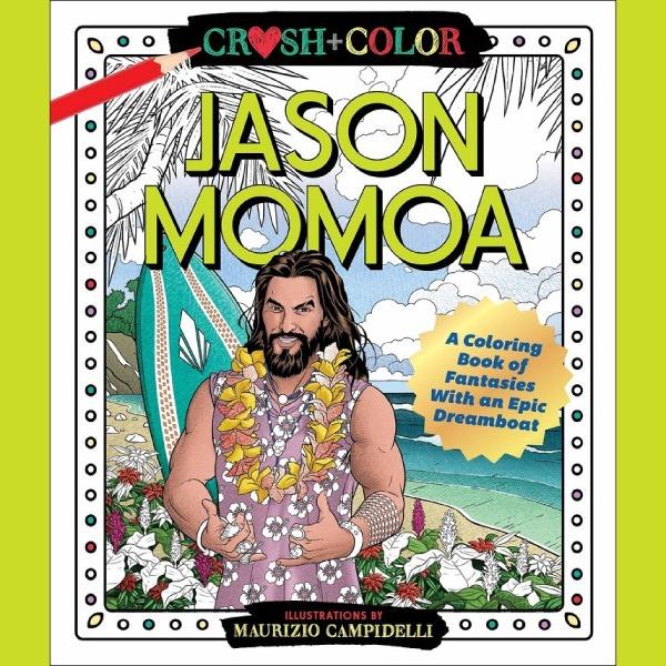The coloring book Jason Momoa
