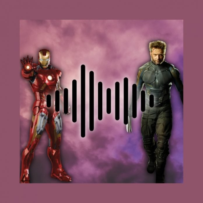 wolverine junto a iron man