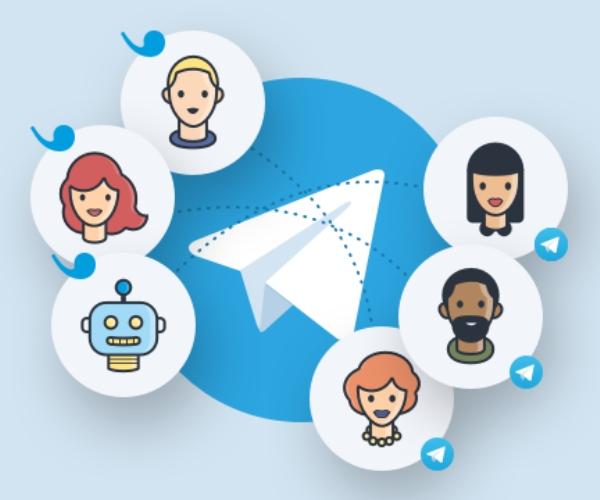 Telegram conectar con más personas