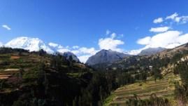 Blick zurück nach oben - Huaraz wir kommen