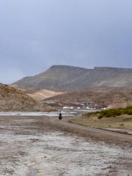 salzige Böden bei Taquiamaya