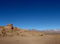 Campspot im Sand